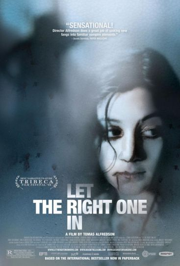Let the Right One In poster