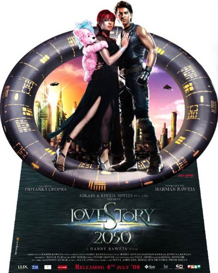 Love Story 2050 poster
