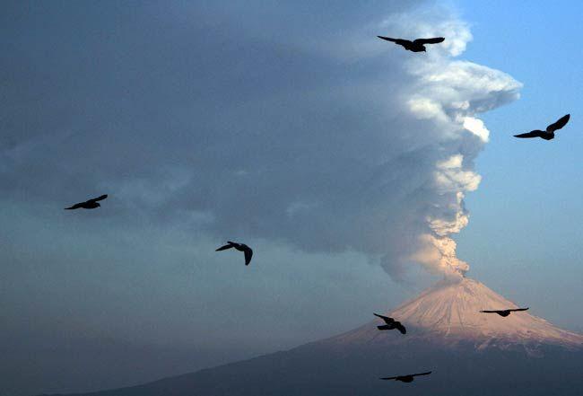 Mexico's Popocatepetl volcano