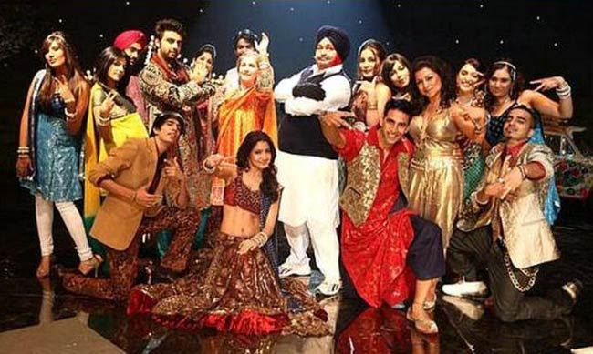 A still from Patiala House
