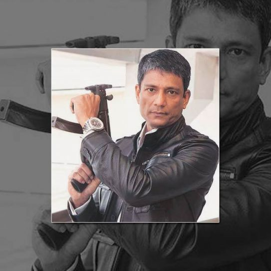 Adil Hussain as colonel in Agent Vinod