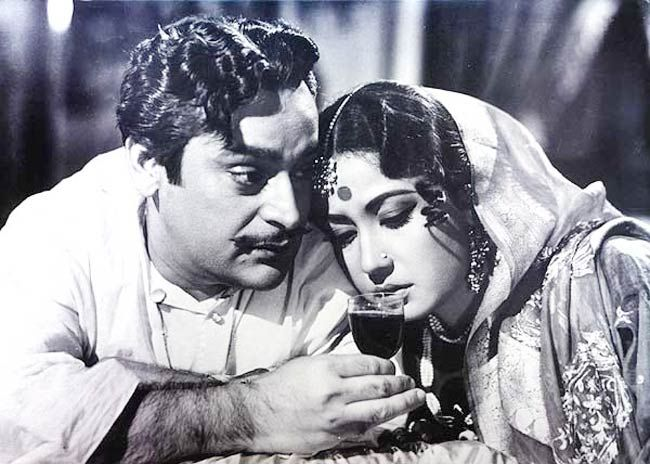 A still from Sahib Bibi Aur Ghulam