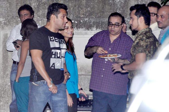 Salman Khan and Raghav Sachar
