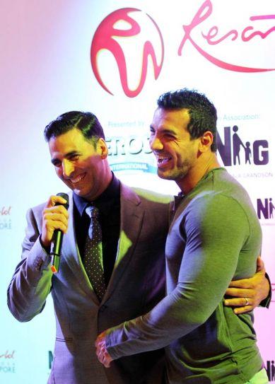 Akshay Kumar and John Abraham