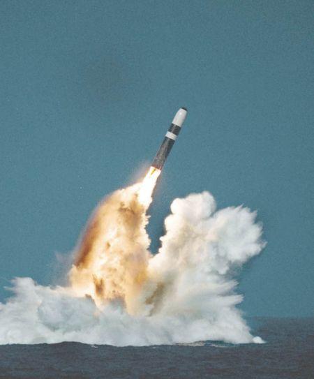 United Kingdom's UGM-133 Trident II SLBM