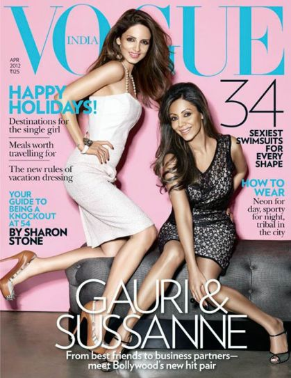 Gauri Khan and Sussanne Roshan