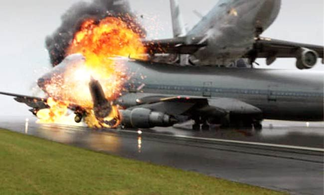 Boeing 747s (KLM and Pan Am) collided on a runway