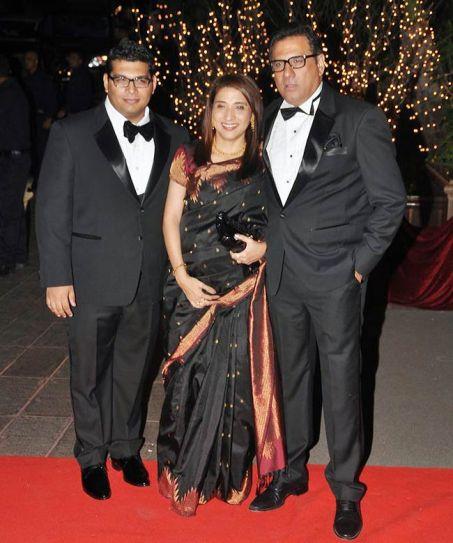 Boman Irani and family