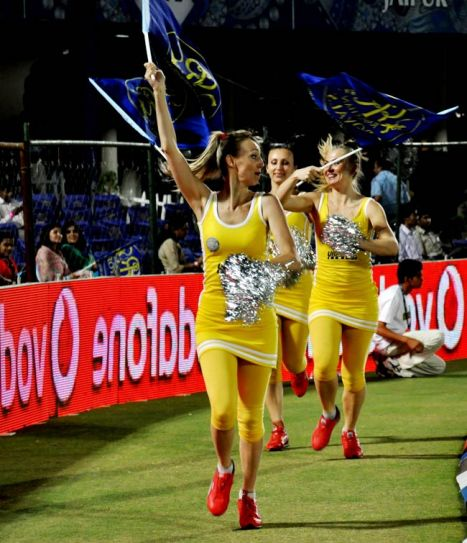 Rajasthan Royals' cheergirls