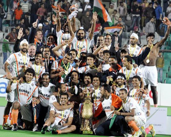 Indian hockey team would be hoping for a better show at the 2012 London Olympic Games
