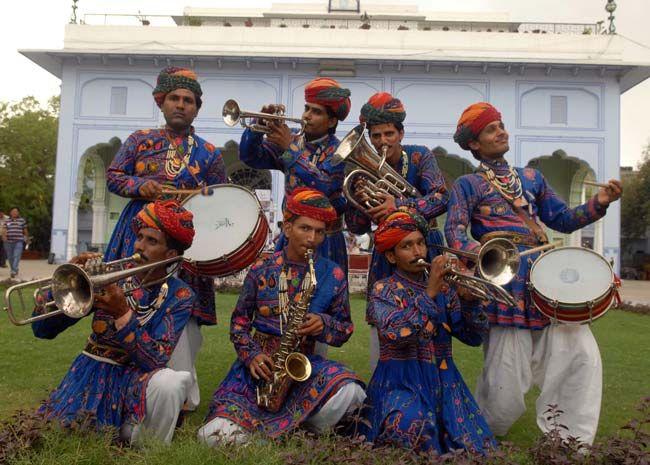 jaipur kawa brass band and kawa musical circus