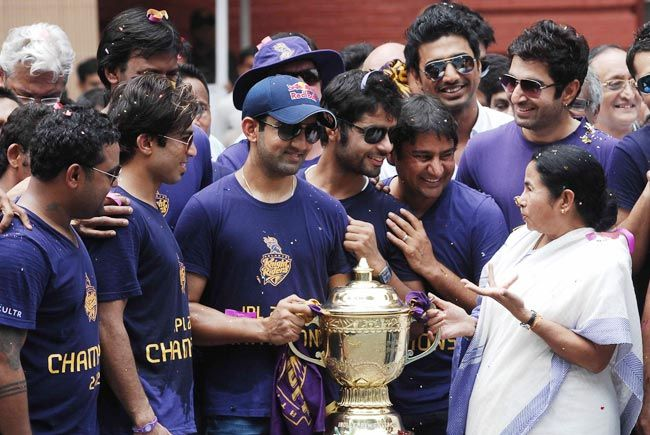 Kolkata Knight Riders and Mamata Banerjee