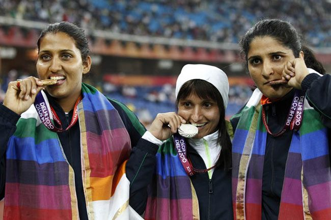 Krishna Poonia would be hoping for a good show at the 2012 London Olympic Games