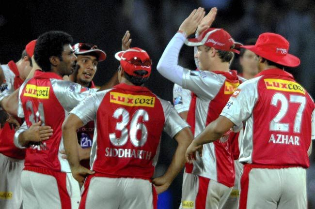 Kings XI Punjab cricketers