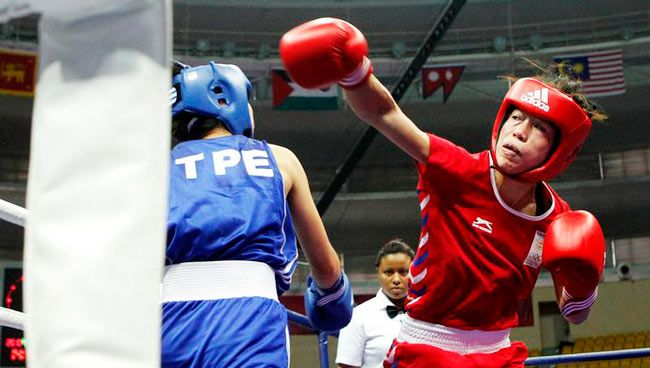 Mary Kom: One of India's medal hopefuls at the 2012 London Olympic Games