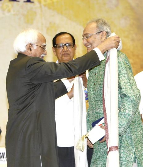 Hamid Ansari and Soumitra Chatterjee