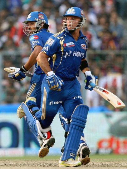 Herschelle Gibbs and Rohit Sharma