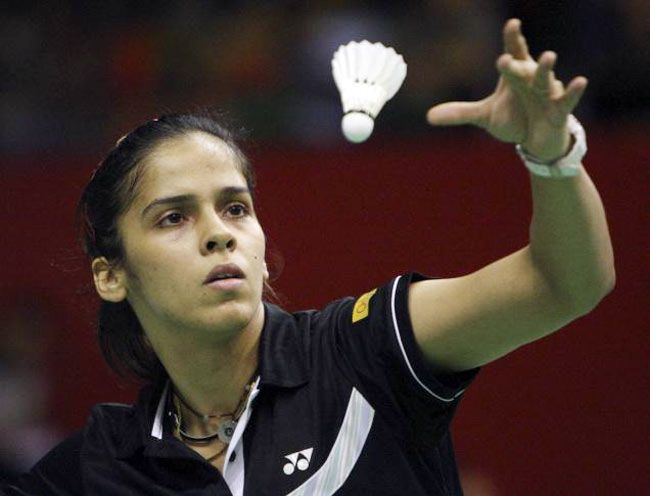 Saina Nehwal: One of India's medal hopefuls at the 2012 London Olympic Games