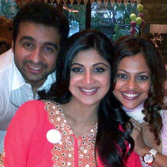 Shilpa gets grand baby shower