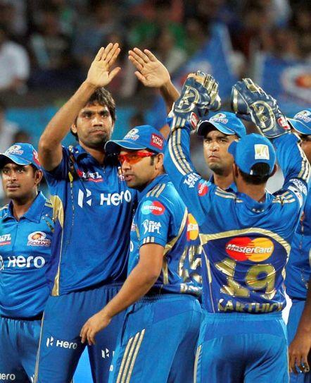 Mumbai Indians' team memebers