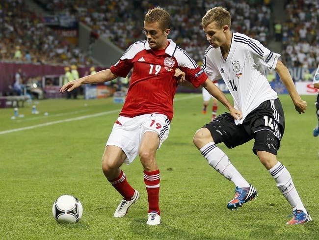Jakob Poulsen(Denmark), Holger Badstuber(Germany)