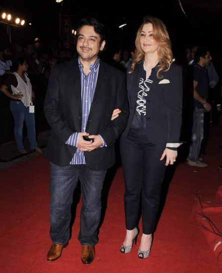 Adnan Sami and Roya Fariyabi