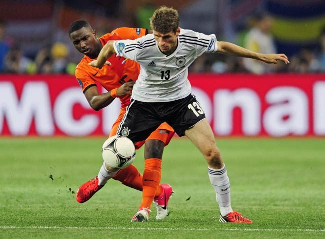 Jetro Willems(the Netherlands), Thomas Mueller(Germany)