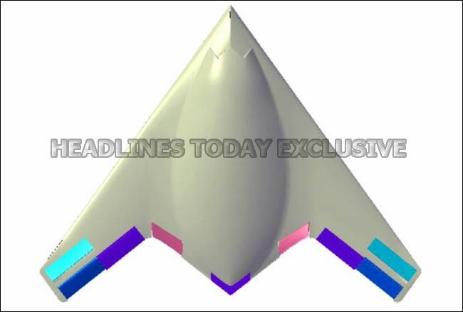 Indian Unmanned Strike Air Vehicle