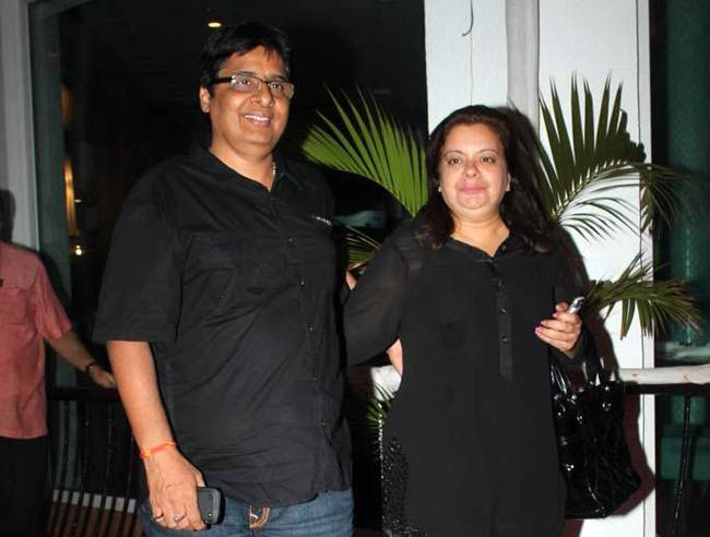 Vashu Bhagnani and Pinky