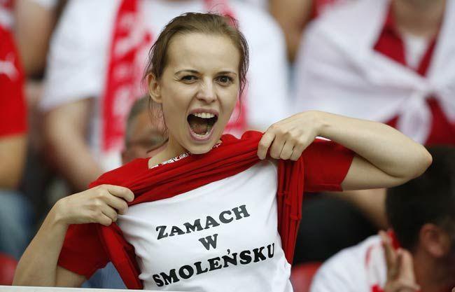 A Polish fan
