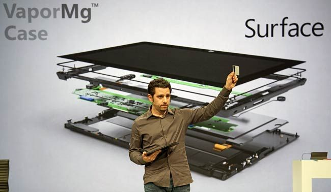Panos Panay explains about Surface