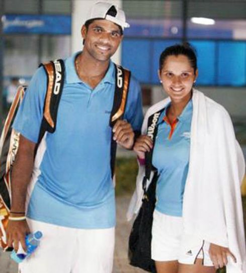 Vishnu Vardhan and Sania Mirza