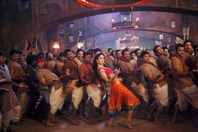 A still from Chikni Chameli