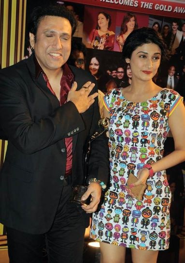 Govinda and Ragini Khanna