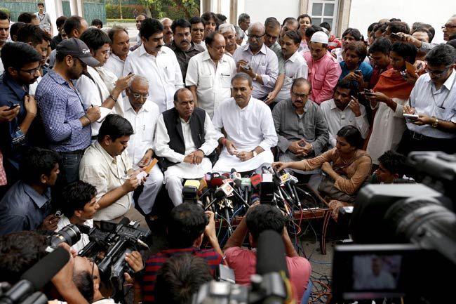 NCP meet in Delhi