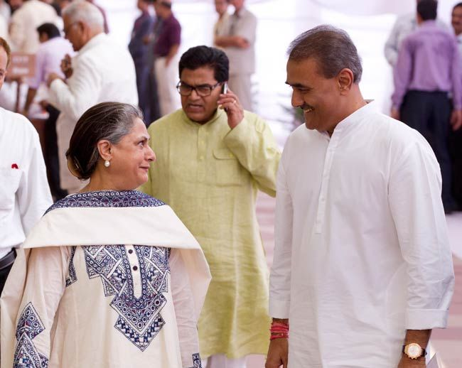 Jaya Bachchan and Praful Patel