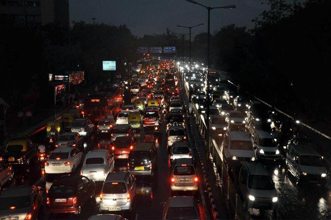 Monsoon in New Delhi
