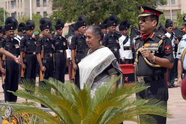 Rajasthan Governor Margaret Alva
