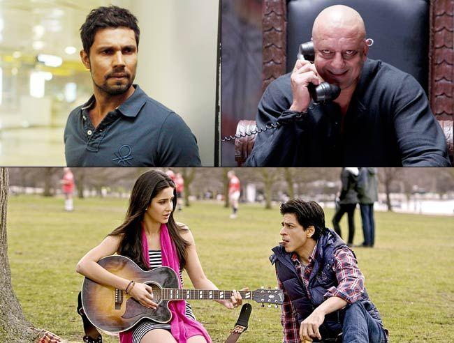 Randeep Hooda, Sanjay Dutt, Shah Rukh Khan and Katrina Kaif