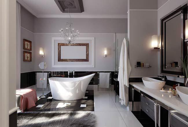 Opulent bathrooms