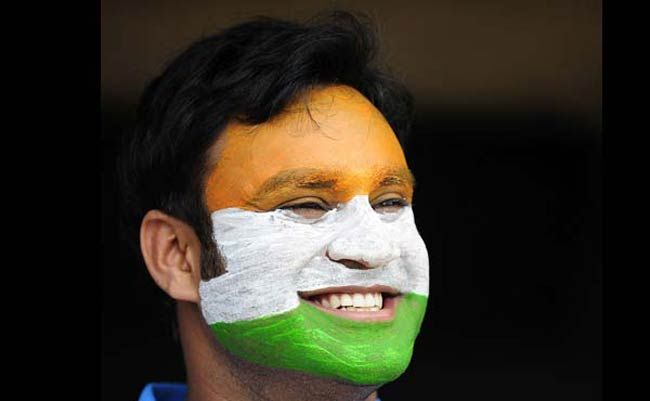 An Indian fan