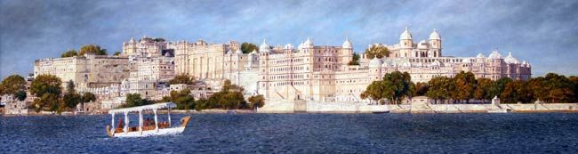 Udaipur City Palace's painting