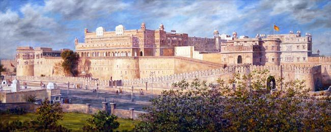 Junagarh fort painting
