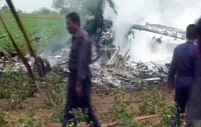 IAF helicopters collide in Gujarat