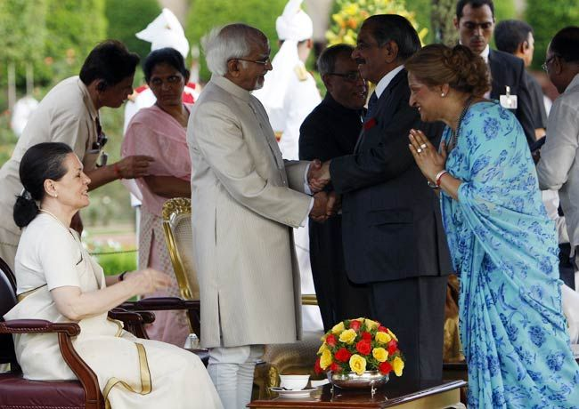 Sonia Gandhi, Hamid Ansari and others
