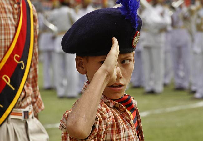 The colours of I-Day