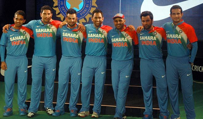 Indian cricket team members
