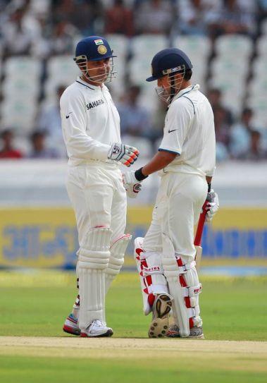 Gautam Gambhir (right) and Virender Sehwag