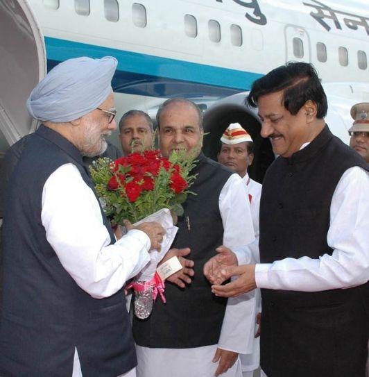 Manmohan Singh, Prithviraj Chavan