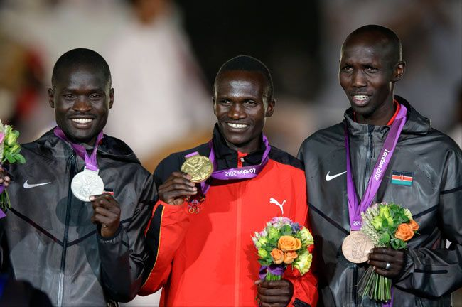 Men's marathon winners